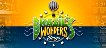Come and be a tourist at Brazil's Wonders Bingo.