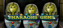 Discover the treasure of the pharaohs in this three-in-one instant win card. That's 3 games for the price of 1! Cash in on the gems of Egypt in Pharaoh's Gems.